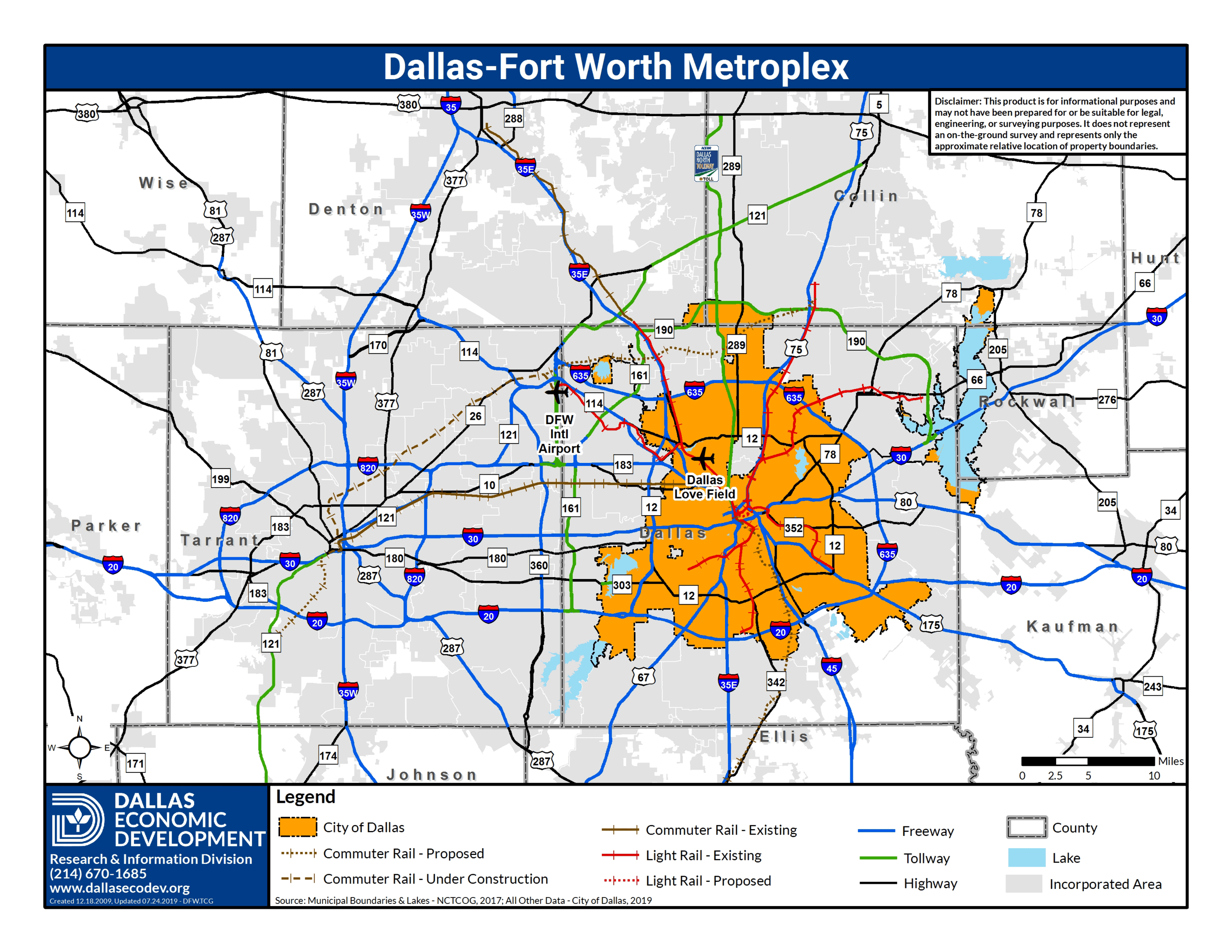 Dallas-Fort Worth Metroplex Map_Updated