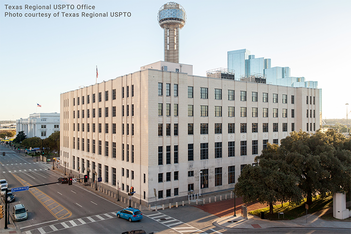 TX Regional USPTO Office-Exterior (Photo courtesy of TX Regional USPTO)