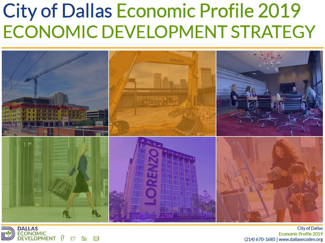2019 Dallas Economic Development Strategy Image