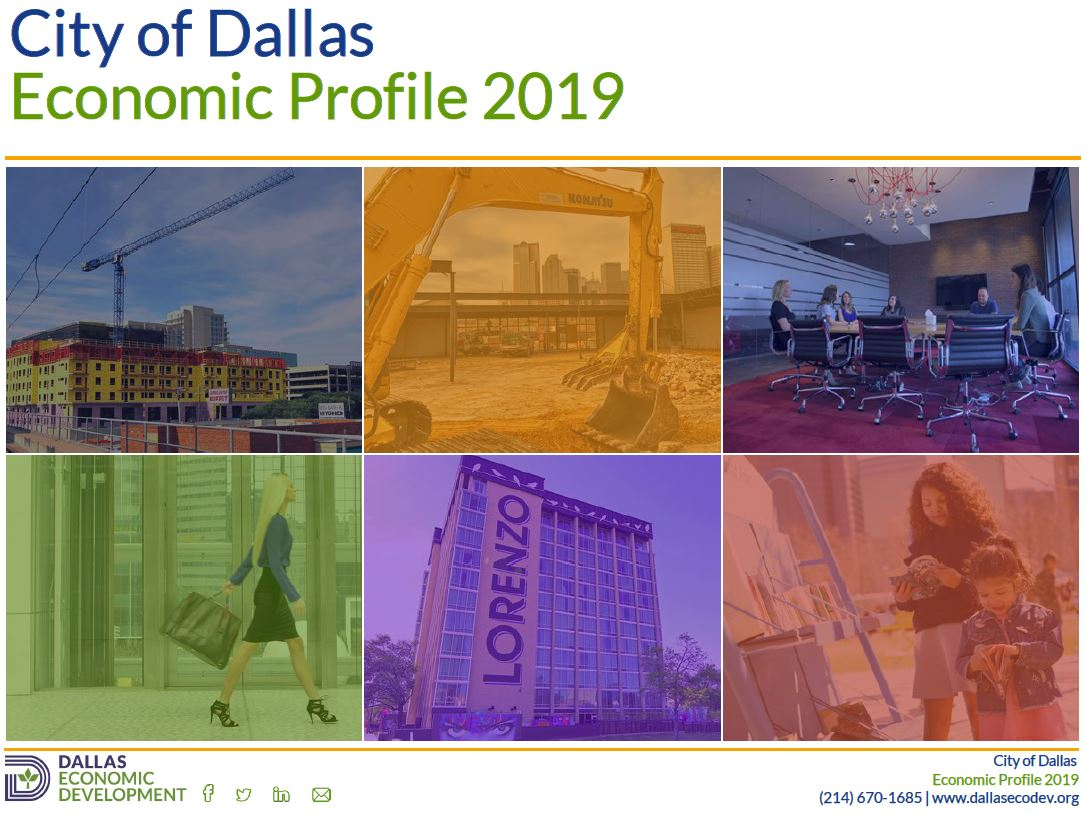 2019 Dallas Economic Profile Image