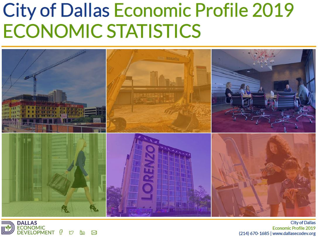 2019 Dallas Economic Statistics Image