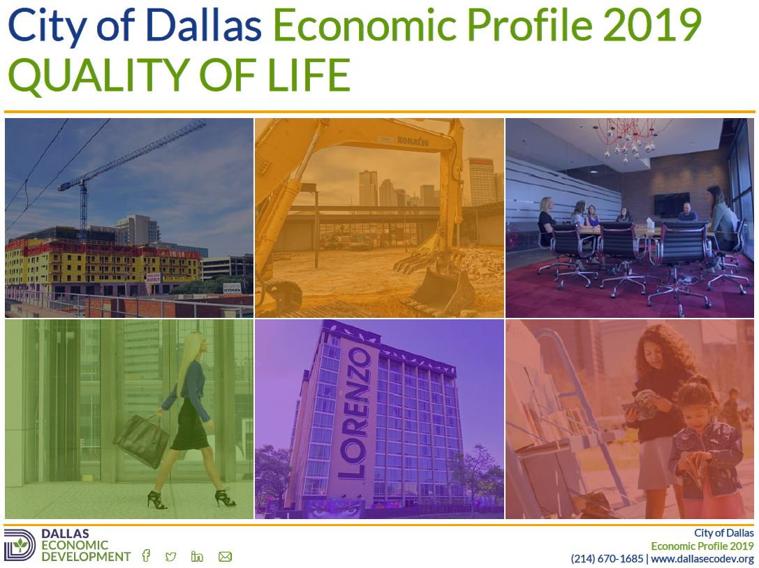 2019 Dallas Quality of Life Image