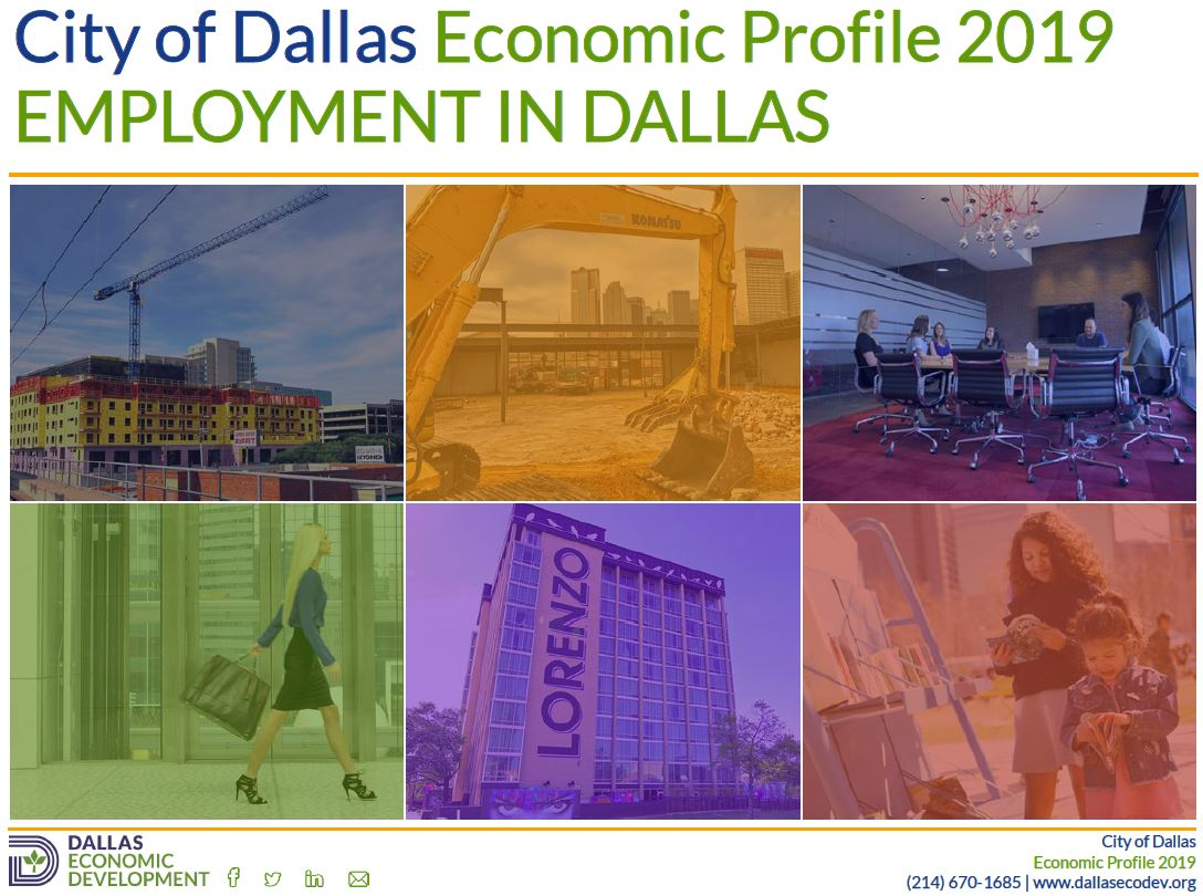 2019 Employment in Dallas Image