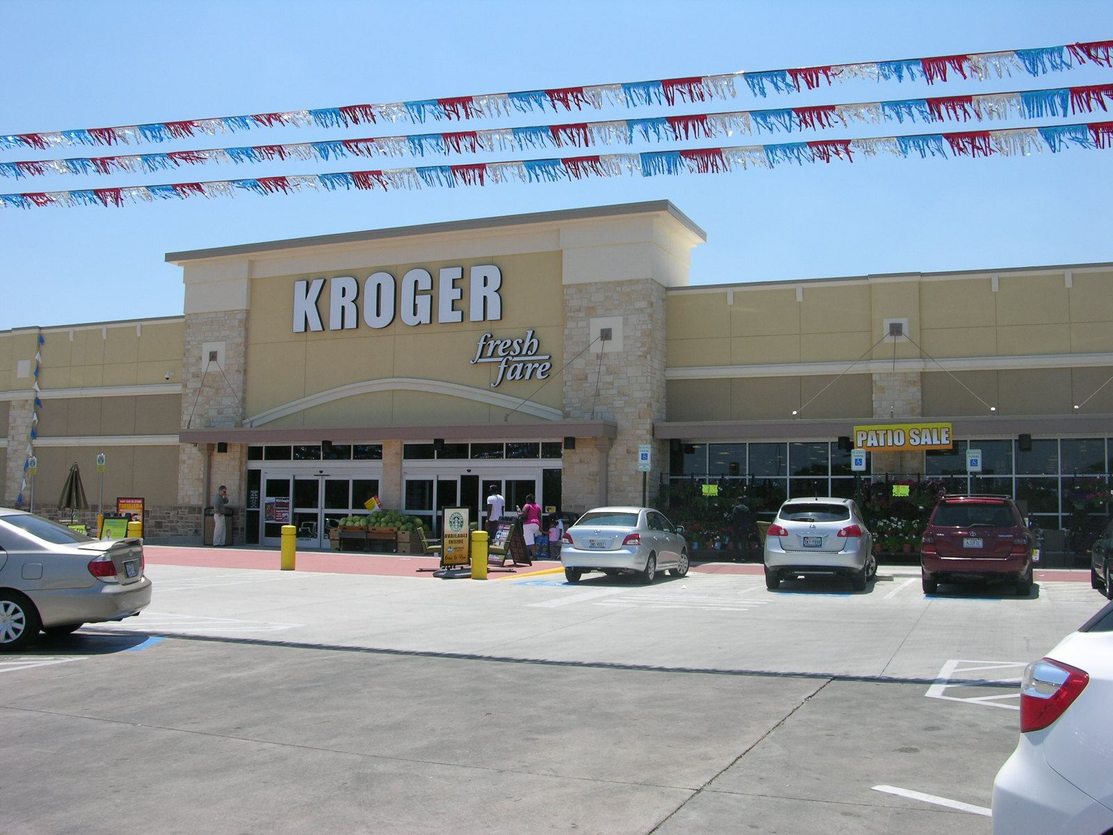 Exterior Kroger Grand Opening