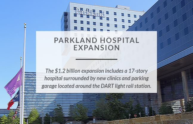 Southwestern Medical District TIF-Success Story-Parkland