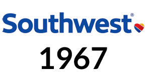 Southwest Airlines was founded in 1967, revolutionizing domestic air travel